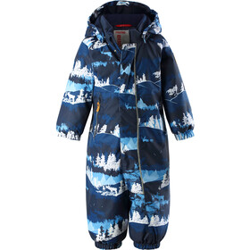 Reima Puhuri Overall Barn Jeans Blue